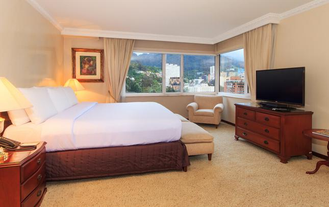 MASTER KING ROOM Tequendama Hotel Bogota